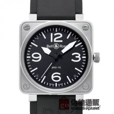 BELL&ROSS ベル&ロス 時計 BR01-92 オートマティック【BR01-92B-CA】 BR01-92 Automa