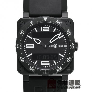 BELL&ROSS ベル&ロス 時計 BR03 タイプ アビエーション【BR03-AVIATION-CFB-R】 BR-03
