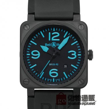 BELL&ROSS ベル&ロス 時計 BR03-92 ブルー【BR03-92BLUE-R】 BR03-92 Blue【BR03