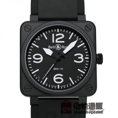 BELL&ROSS ベル&ロス 時計 BR01-92 オートマティック【BR01-92CFB-CA】 BR01-92 Auto