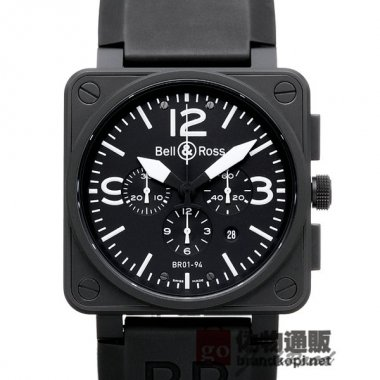 BELL&ROSS ベル&ロス 時計 BR01-94 カーボン クロノグラフ【BR01-94CFB-CA】 BR01-94 C