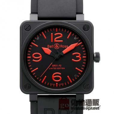 BELL&ROSS ベル&ロス 時計 BR01-92 レッド【BR01-92 RED-R】 BR01-92 Red【BR01-