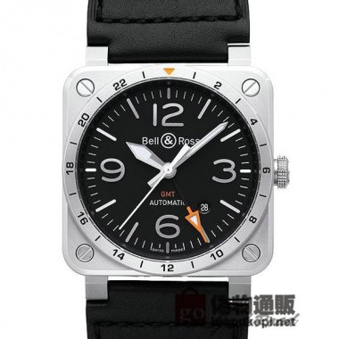 BELL&ROSS ベル&ロス 時計 BR03-93 GMT【BR0393-GMT-ST/SCA】 BR03-93 GMT【B