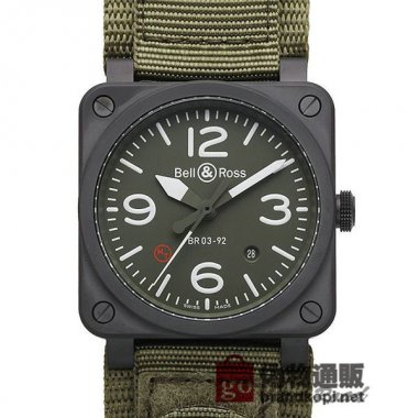 BELL&ROSS ベル&ロス 時計 BR03-92 ミリタリー タイプ【BR03-92 MILITARY】 BR03-92